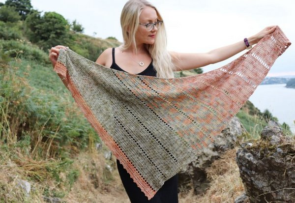 1 Space shawl 2 1