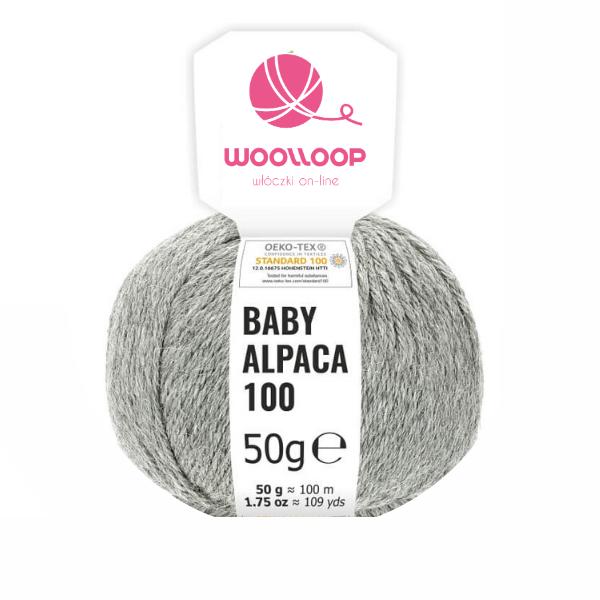 Baby Alpaca DK – jasnoszary 10