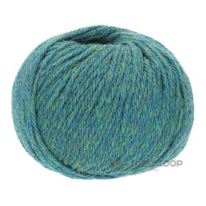 50g wloczka baby alpaka dk niebiesko zielony melanz 266 woolloop