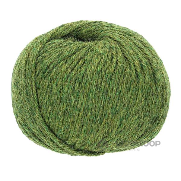 50g wloczka baby alpaka dk zielony melanz 285 woolloop