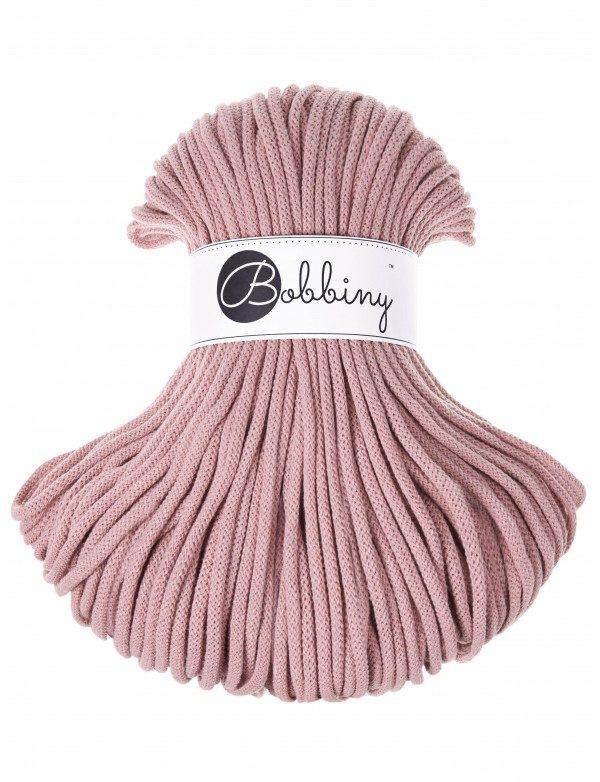 BOBBINY sznurek Premium 100m ROZOWE ZLOTO 4008 woolloop
