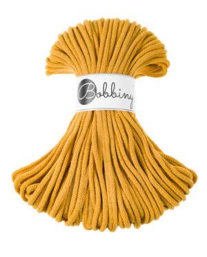 BOBBINY sznurki Premium 50m MUSZTARDOWY 039