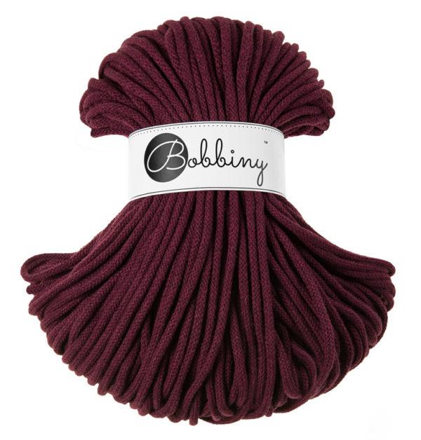 BOOBINY sznurek Premium 100m BURGUNDOWY 3950