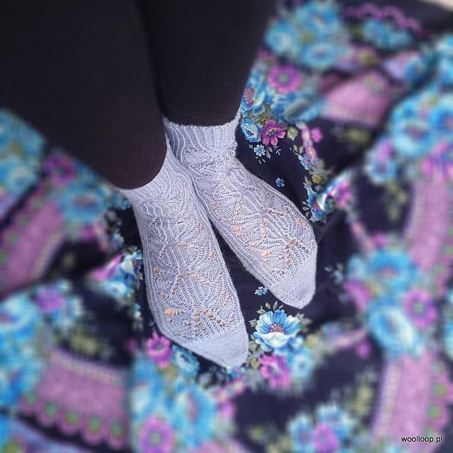 Bromo Socks z wloczki Durable Soqs woolloop