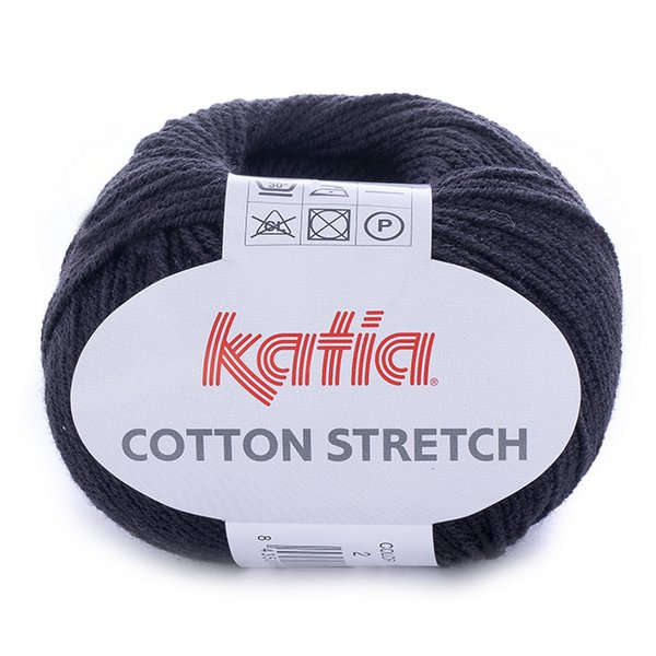 Cotton Stretch – czarny 2