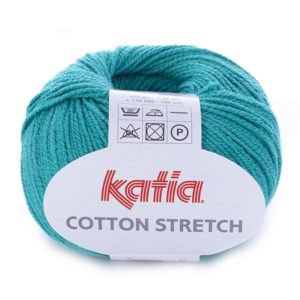 COTTON STRETCH Katia szamragdowy 19 woolloop 001