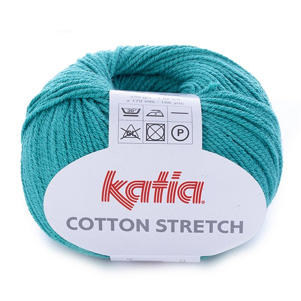 Cotton Stretch – szmaragdowy 19