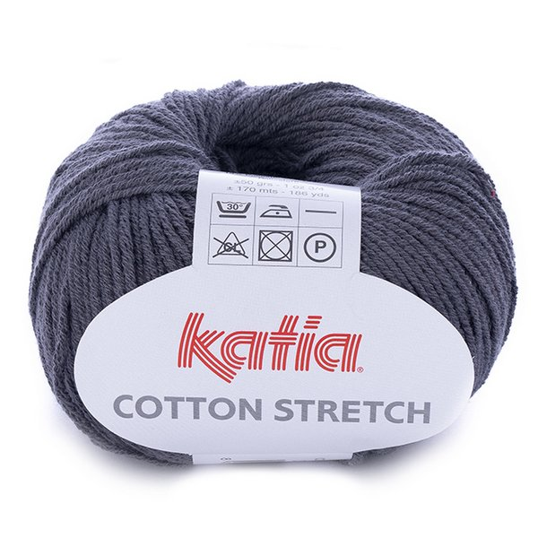 Cotton Stretch – grafitowy 34