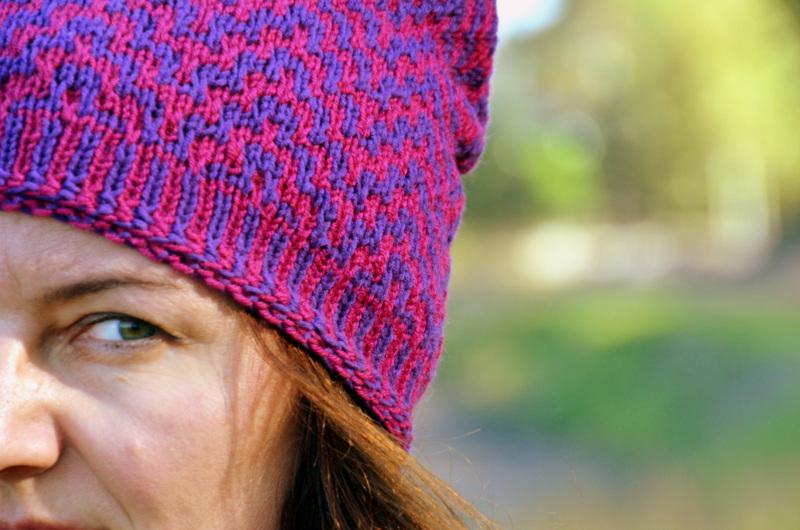 czapka na drutach z włóczki Durable Cosy Fine