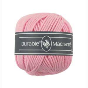 Durable Macrame 232 róż