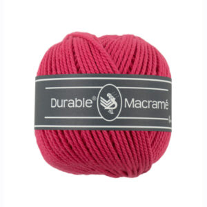 Durable Macrame 236 fuksja