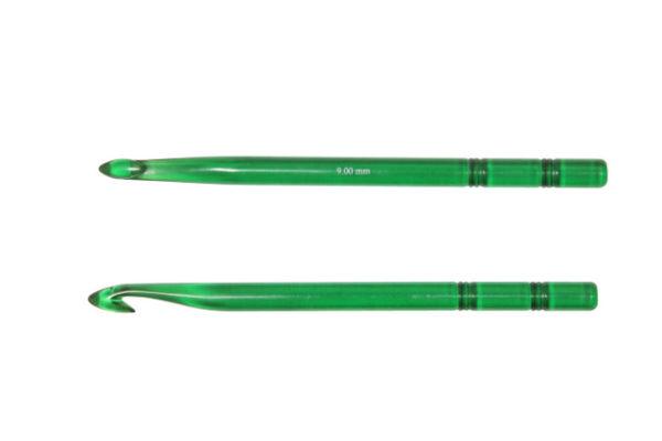 KnitPro Trendz szydełko ZIELONE 9 mm woolloop