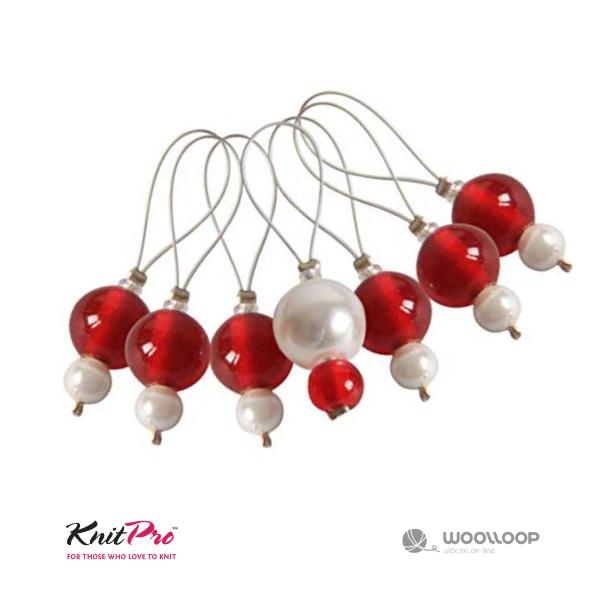 Markery dziewiarskie Knit Pro Amaranth woolloop