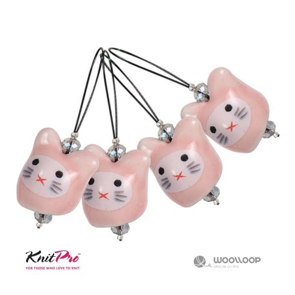 Markery dziewiarskie Knit Pro kotki woolloop