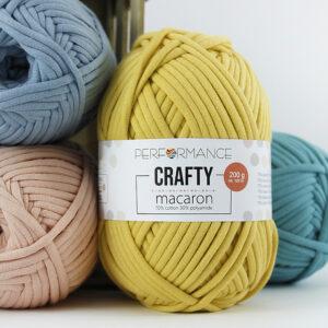 Performance Crafty macaron t shirt yarn woolloop