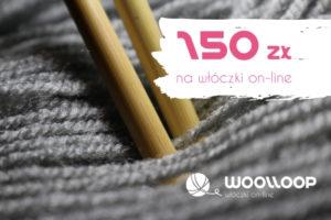 karta prezentowa woolloop 150 zł
