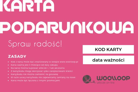 woolloop Karta podarunkowa - rewers