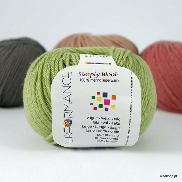 Simply Wool 149 jasnozielony