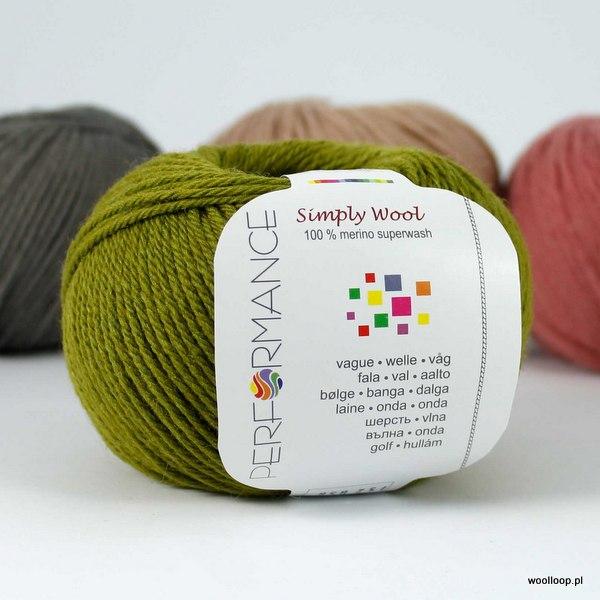 Simply Wool 152 oliwkowy