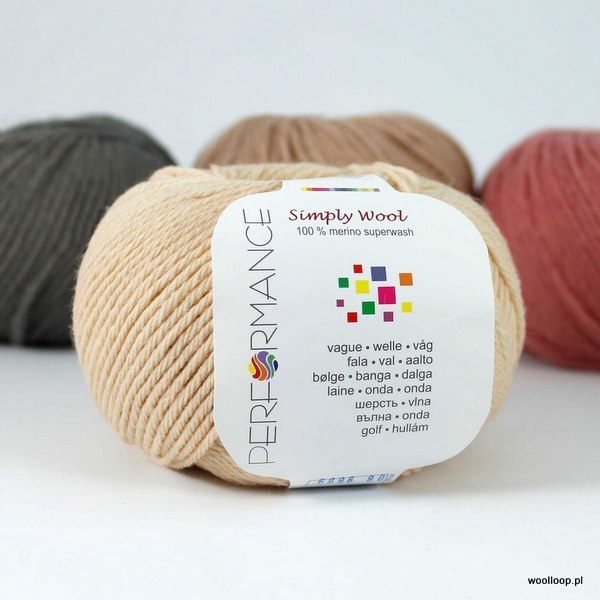 Simply Wool 208 jasny miód