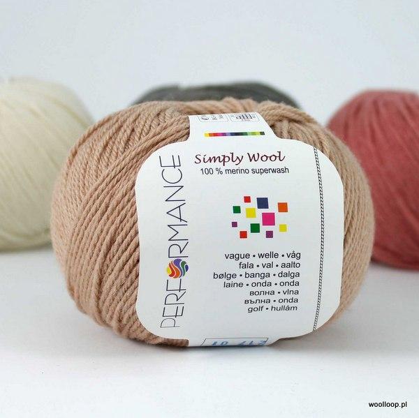 Simply Wool 217 ciepły beż
