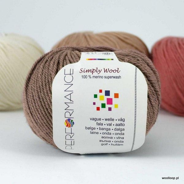 Simply Wool 224 mokka