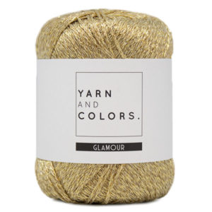 Yarn and Colors Glamour 089 ZLOTY woolloop