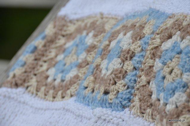 babcine kwadraty na szydelku z wloczek yarn and colors woolloop