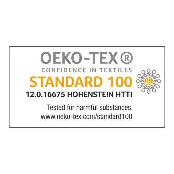 certyfikat Oeko tex standard 100 woolloop yarns baby aplaka