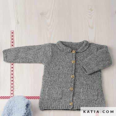 dzieciecy sweterek z kieszeniami katia lagom woolloop