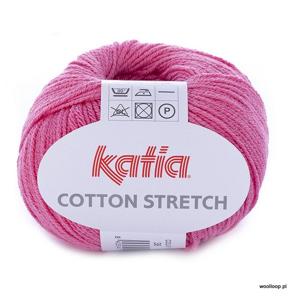 Cotton Stretch – różowy 38
