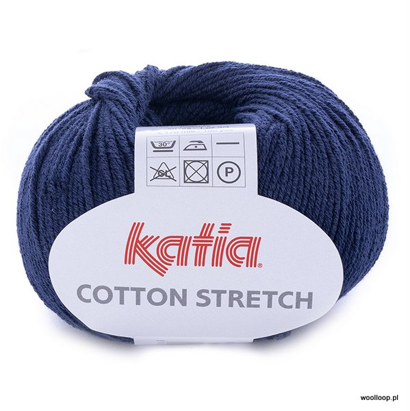 Cotton Stretch – granat 5