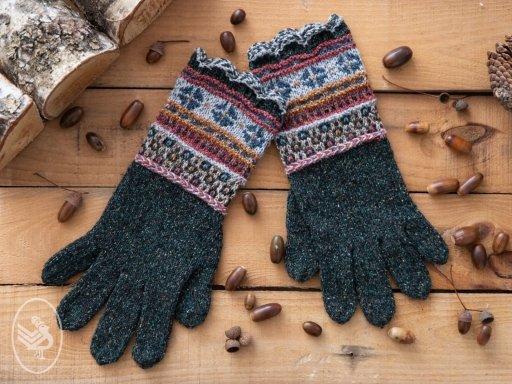 fair isle handschoenen