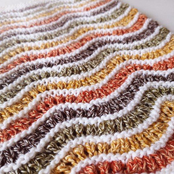 komin fale na drutach Performance Wooly Cotton woolloop