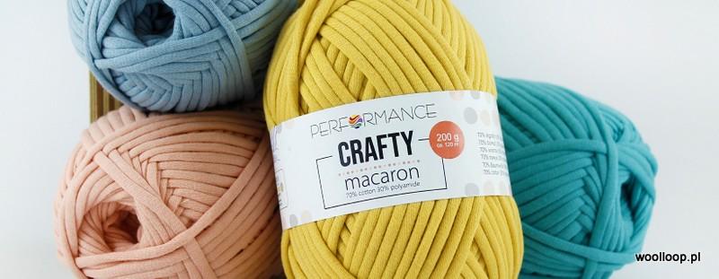 przedza Crafty Macaron Performance woolloop