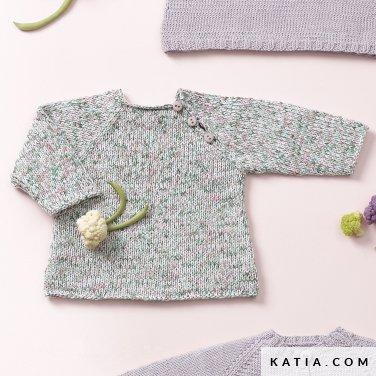 sweter dla dziecka katia butterfly woolloop