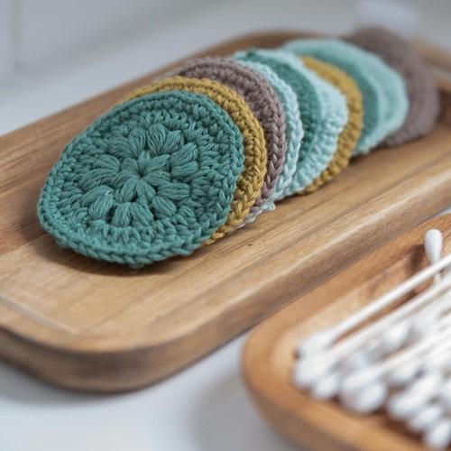 szydelkowa myjka z wloczki Favorite yarn and colors woolloop