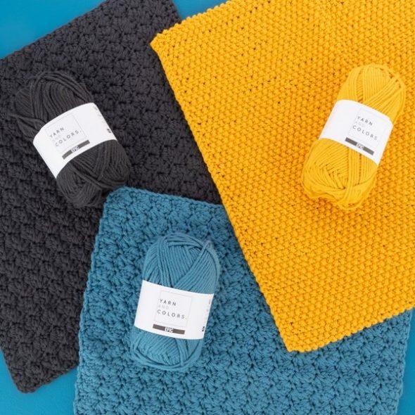 szydelkowane sciereczki z wloczki yarn and colors epic bawelna 100