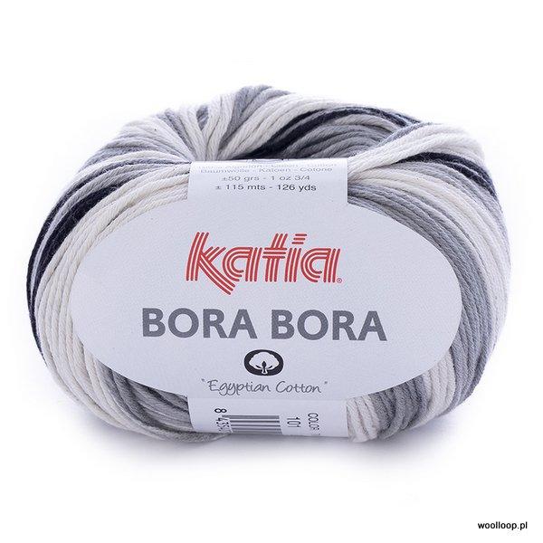 Bora Bora 101 – czarno – szaro – biały (duży wzór)