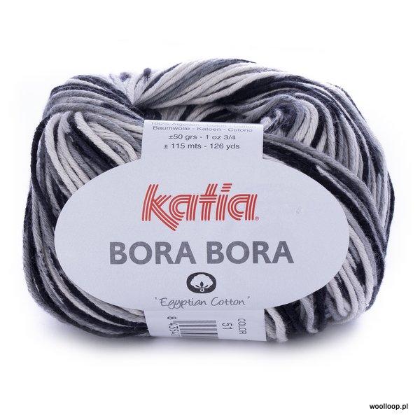 Bora Bora 51 – czarno-szaro-biały
