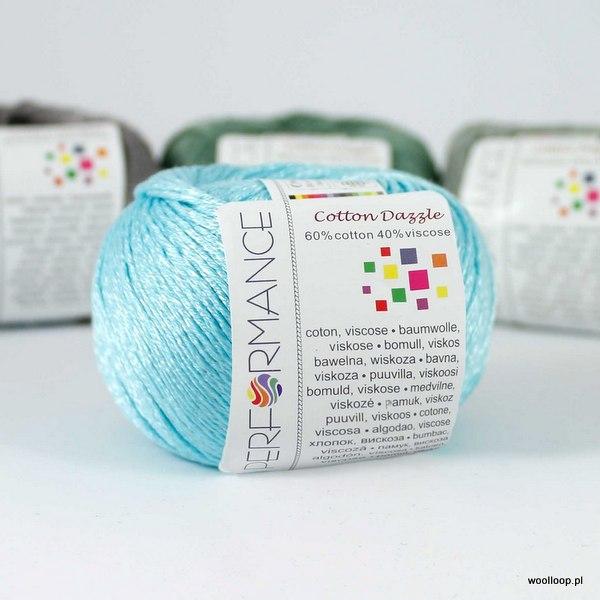 Cotton Dazzle 122 akwamaryna