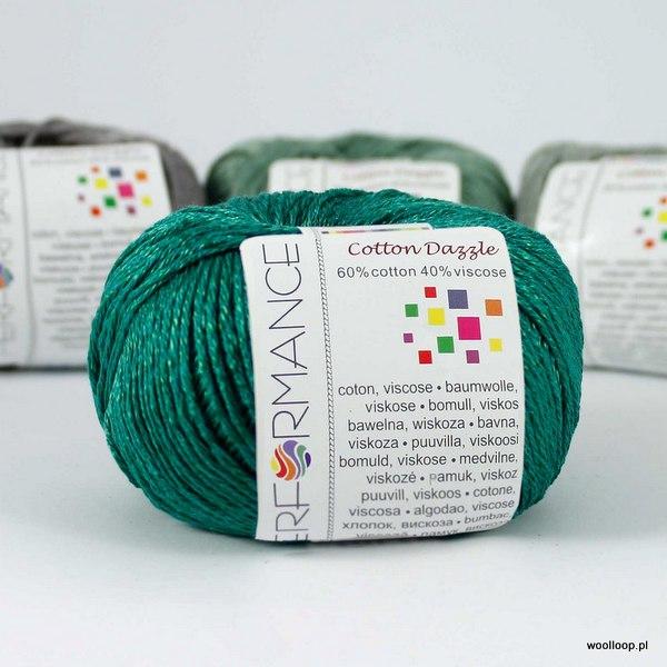 Cotton Dazzle 143 szmaragd
