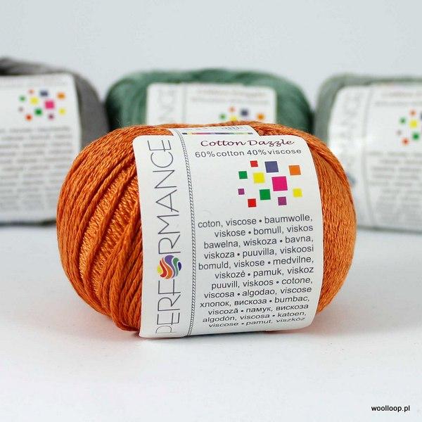 Cotton Dazzle 199 rdzawo-pomarańczowy