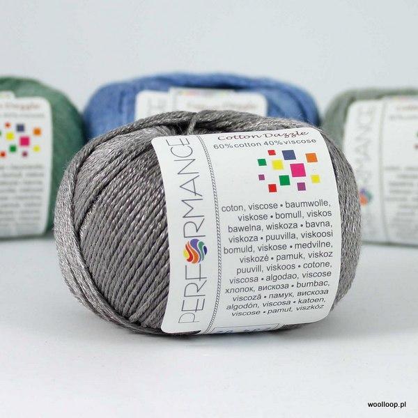 Cotton Dazzle 234 stalowo-szary