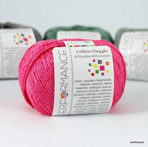 Cotton Dazzle 34 fuksja