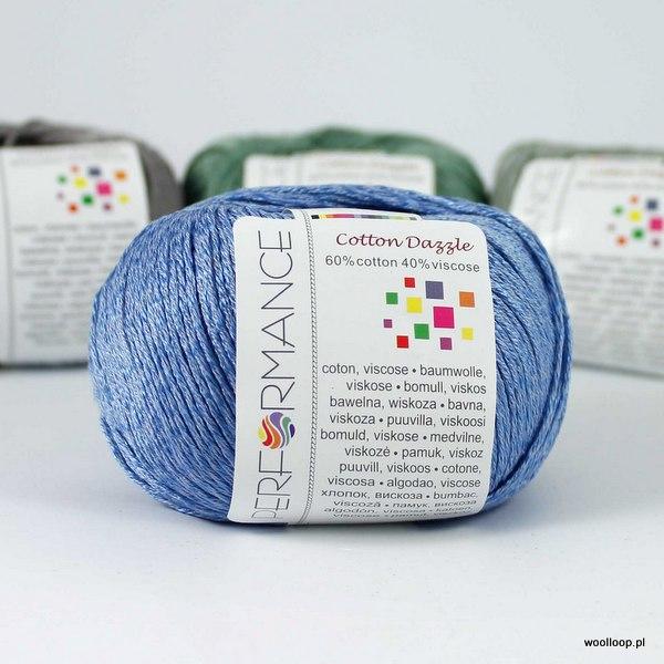 Cotton Dazzle 92 błękit