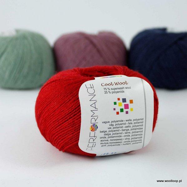 Cool Wool 09 czerwony