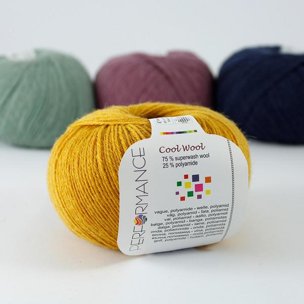 Cool Wool 190 ciemnożółty
