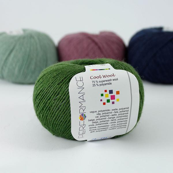 Cool Wool 163 zieleń