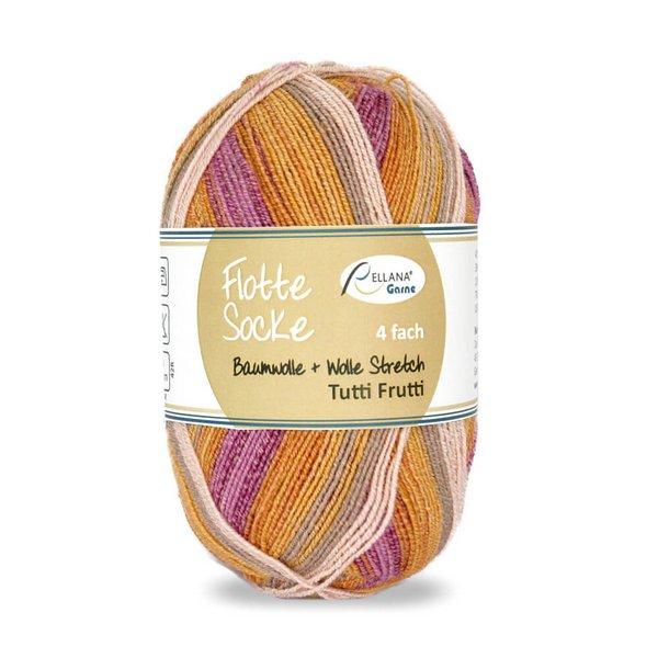 Tutti Frutti 1410 – pomarańczowy-magenta-beż